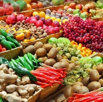 התרומה הבריאותית של פירות וירקות