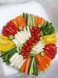פלטת ירקות L