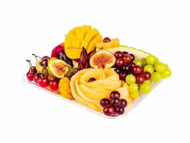 מגש פירות מלבני | מידה: S