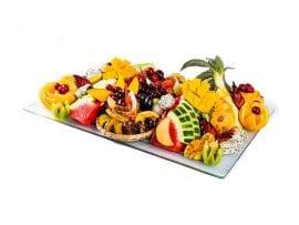 מגש פירות מלבן פרימיום