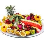 עינוגי פירות עגול קטן