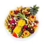 מגש פירות עגול פרימיום קטן 3