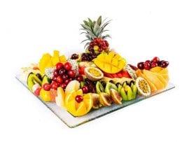 מגש פירות מרובע פרימיום