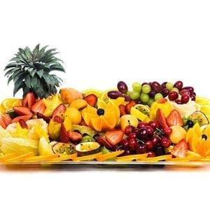 מגש פירות מלבני | מידה: XL