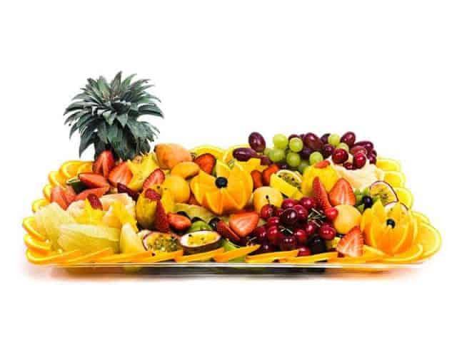 מגש פירות מלבני | מידה: XXL