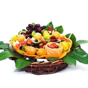 צלחת פירות מעוצבת