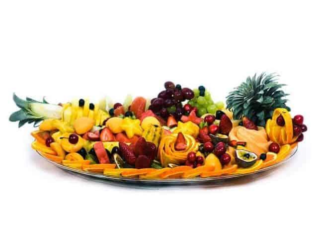 משלוח מגש פירות אליפסה | מידה: XXL