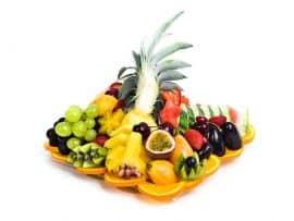 מגש פירות מרובע במידה: XS