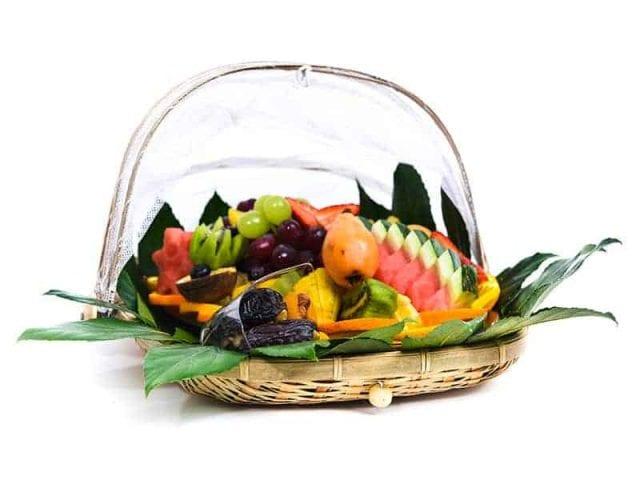 סלסלת פירות ליולדת