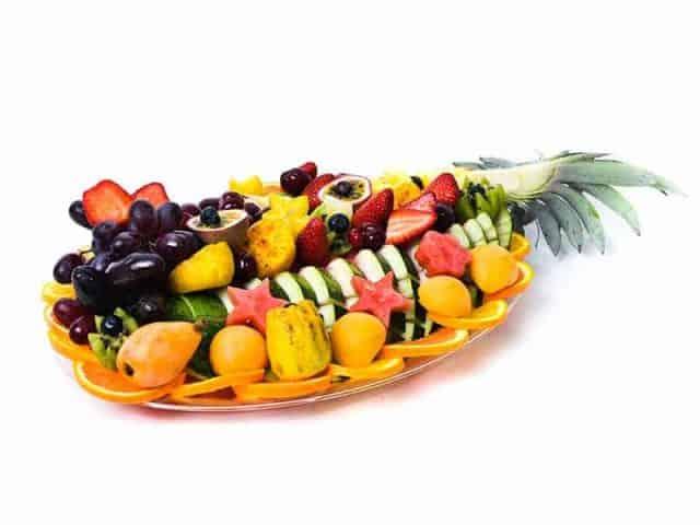 מגש פירות אובלי במידה Large