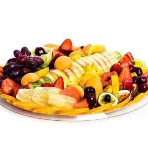 מגש פירות עגול Large