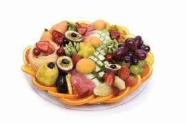 מגש פירות עגול | מידה: M