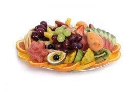 מגש פירות אובלי במידת Small
