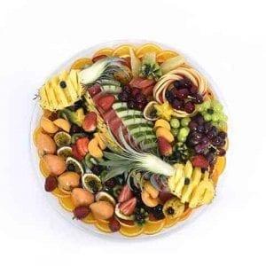 מגש פירות עגול המידה Extra Large | סלסלה