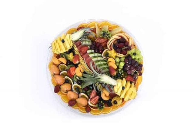 מגש פירות עגול   מידה: XL