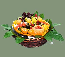 סלסלת פירות לקיץ כמתנה מתוקה!